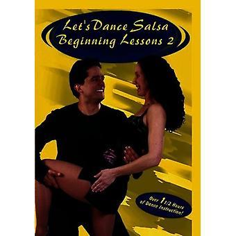 Salsa-Beginning Lessons 2 [DVD] USA import