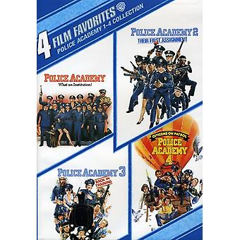 Police Academy 1-4 [DVD] USA import