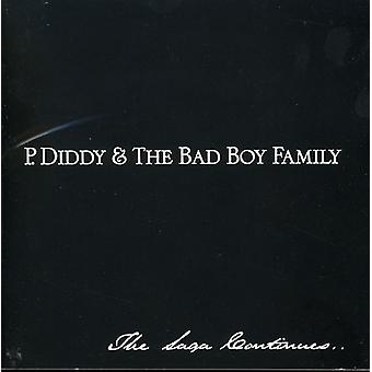 P. Diddy - P. Diddy & the Bad Boy Family- [CD] USA import