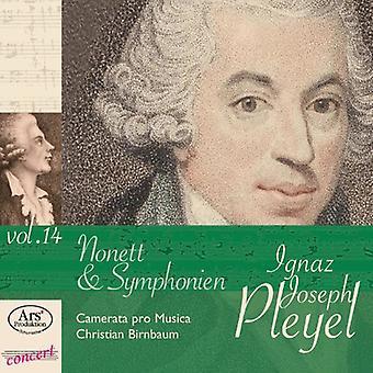 Pleyel - Pleyel: Nonett & Symphonien Vol. 14 [CD] USA import