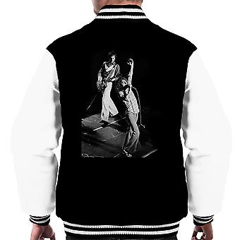 Il Who Varsity Jacket Pete Townshend Roger Daltrey Lyceum Theatre Londra 1973 maschile