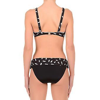 David DA7-090D Women's Karolina Black Underwired Swimwear Bikini Set