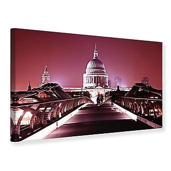 Canvas Print Millennium Bridge