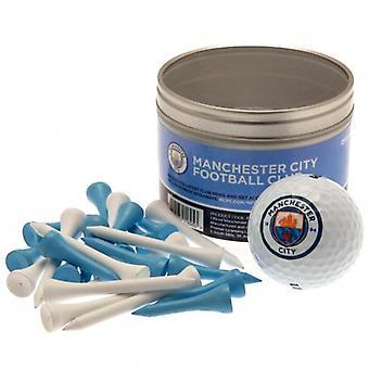 Manchester City palla & Tee Set