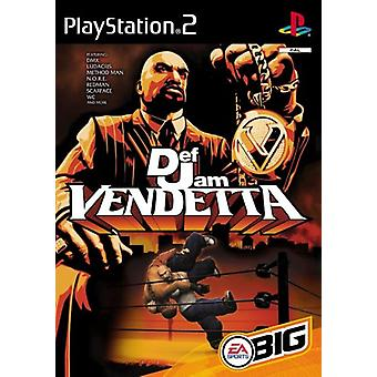 Def Jam Vendetta (PS2) - New Factory Sealed