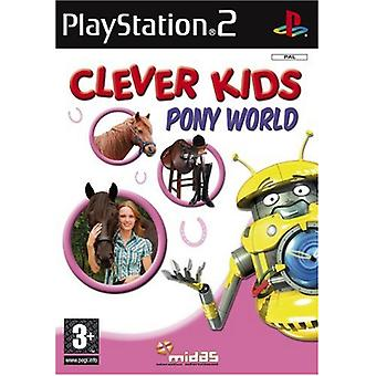 Clever Kids Pony World (PS2) - New Factory Sealed