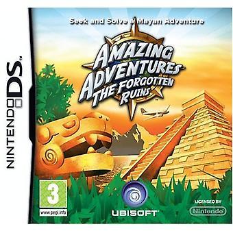 Fantastiske eventyr de glemte ruiner (Nintendo DS)-fabriks forseglede