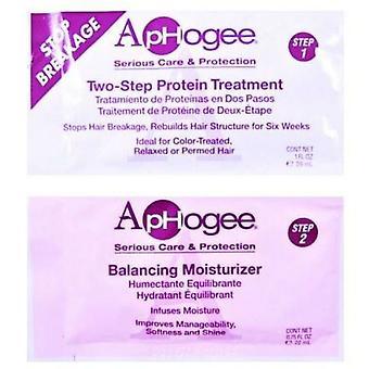 Aphogee 2 vaihe proteiini kohtelua & tasapainottaminen kosteusvoide hengen annospussia
