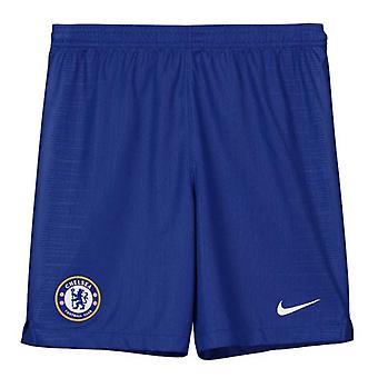 2018-2019 Chelsea Home Nike fotbal Shorts (copii)