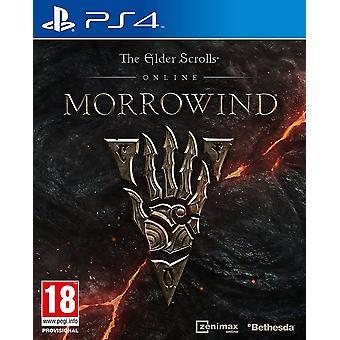 Az Elder Scrolls online Morrowind PS4 játék