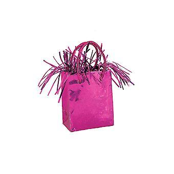 Ballon Poids Mini sac à main rose chaud