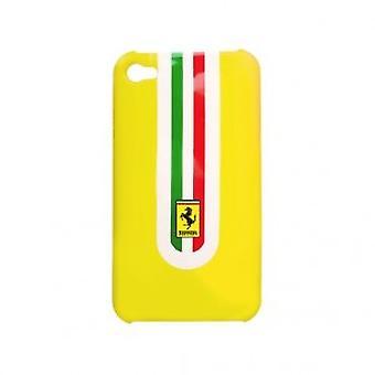 Ferrari Hard Cover caixa amarela com o logotipo de Ferrari iPhone 4 / 4s