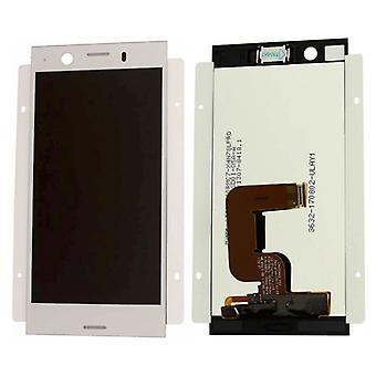 Sony экран LCD полный комплект для Xperia XZ1 двойной G8342 серебро запчасти новые