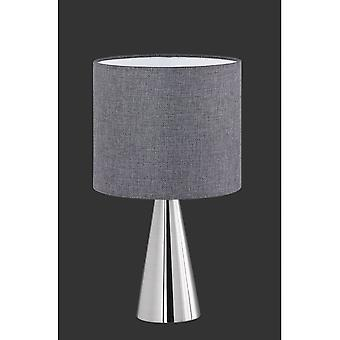 Trio Lighting Cosinus Modern Nickel Matt Metal Table Lamp