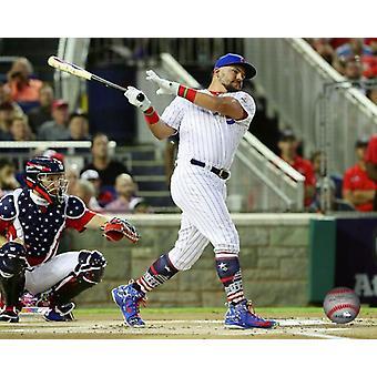 Kyle Schwarber 2018 MLB Home Run Derby 2018 MLB All-Star-Spiel Photo Print