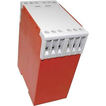 Axxatronic CCH12 DIN rail behuizing 74 x 45 x 99 Polyamide 6.6 rood 1 PC('s)