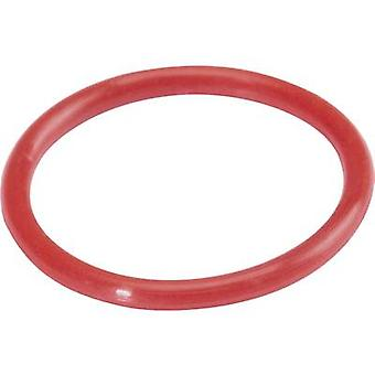 Hicon HI-UC-RT ID ring Red 10 pc(s)