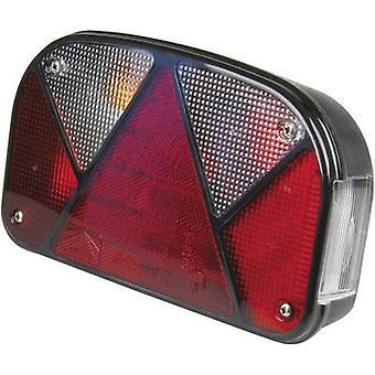 Unitec Trailer tail light Multipoint Turn signal, Brake light, Tail light, Number plate light, Reflector , Rear fog lamp rear, left 12 V