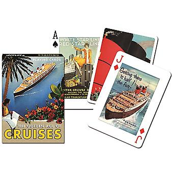 Golden Age Of Cruises Set Of 52 (+ Jokers) Playing Cards