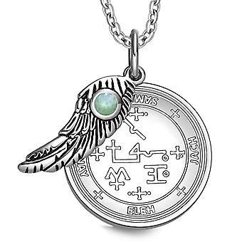Erzengel Samael Sigil magische Flügel Amulett