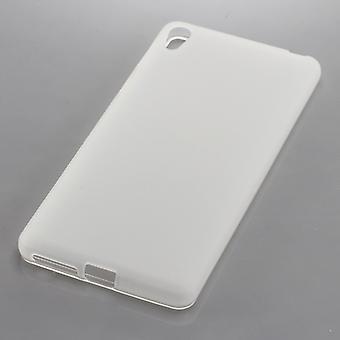 TPU caso de teléfono móvil Sony Xperia E5 transparencia de cubierta móvil