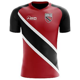 2020-2021 Trinidad og Tobago Home Concept Fodbold shirt - Voksen langærmet