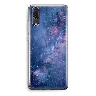 Huawei P20 Transparent Case (Soft) - Nebula