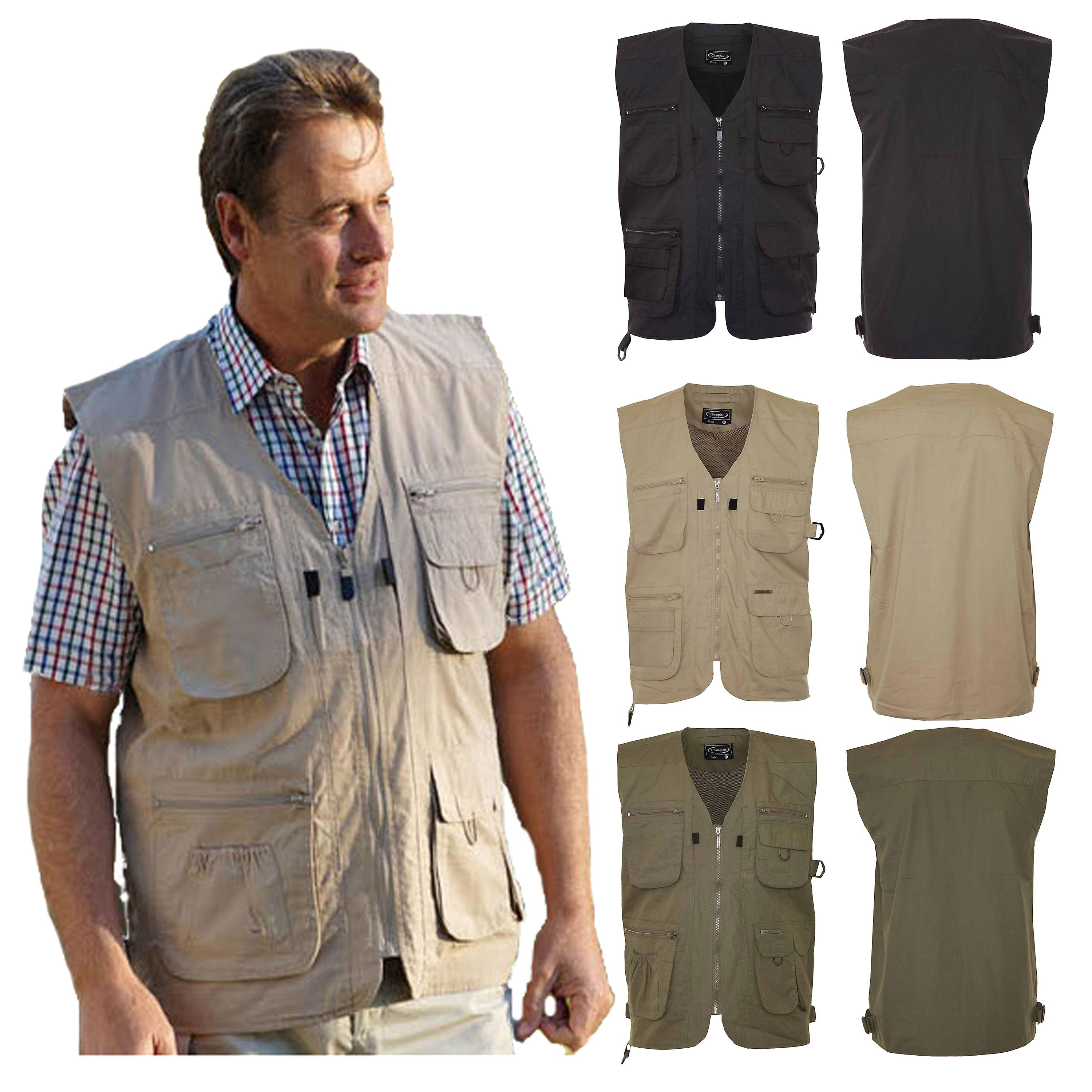 Mens Champion Country Clothing Polycotton BodyWarmer Gilet Outerwear