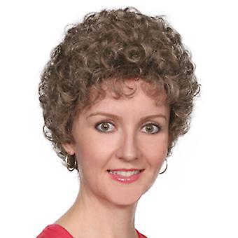 Fashion women short curly Crystal wig