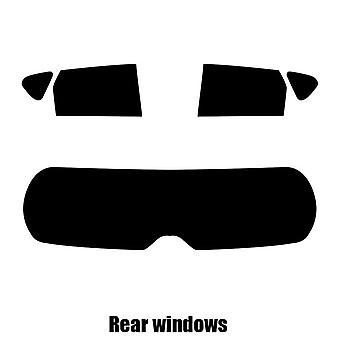 Pre cut fönstret nyans - Toyota Auris Estate - 2013 och nyare - bakre windows