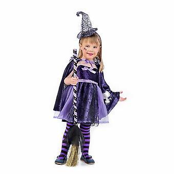 Costume de sorcière violet enfant costume sorcière enfant