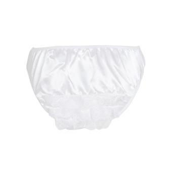 Honour Frilly Knix Plus Size White Knickers