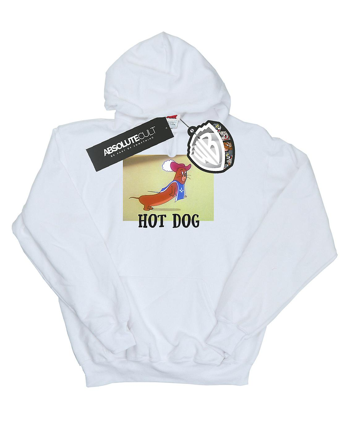 Tom And Jerry Men's Hot Dog Hoodie