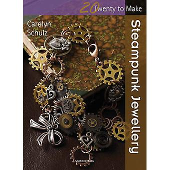 Bijoux steampunk par Carolyn Schulz - livre 9781782210122