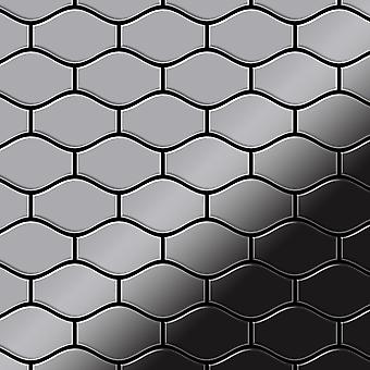 Metall mosaik rostfritt stål legering Karma-S-S-M