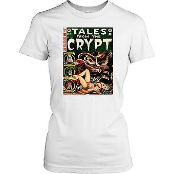 Tales från Crypt komiska damer T Shirt