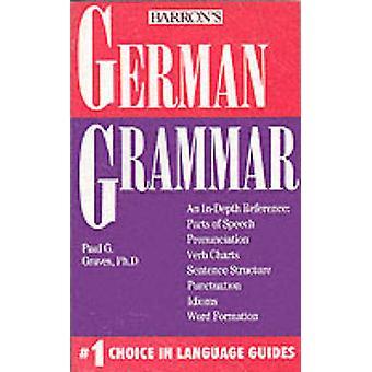 Grammaire allemande par Paul Graves - livre 9780812042962