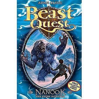 Nanook de Snow Monster (Beast Quest)