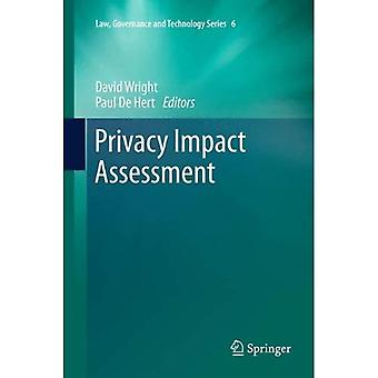 Privacy Impact Assessment (Law, Governance and Technology Series)
