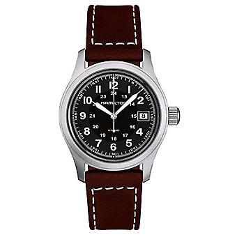 Hamilton Analog quartz men's watch with leather H68411533