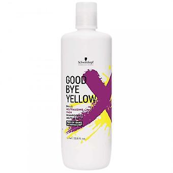 Schwarzkopf GoodBye Yellow Neutralizing Shampoo 1000ml