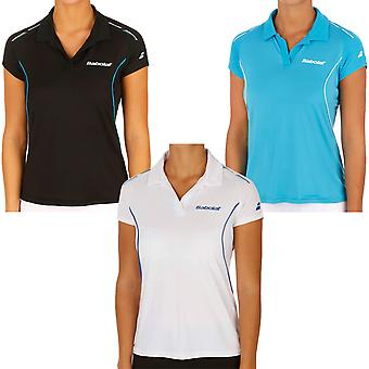 Babolat Girls Match Performance Tennis Badminton Squash Polo Shirt Top