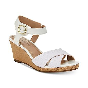 Charter Club Womens Sonome Open Toe Casual Ankle Strap Sandals