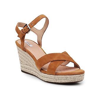 Geox D Soleil D92N7A00021C2021 universella sommar kvinnor skor