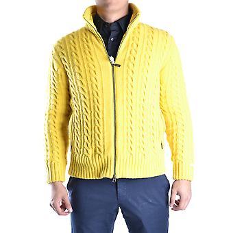 Geospirit Ezbc203004 Men's Yellow Wool Sweater