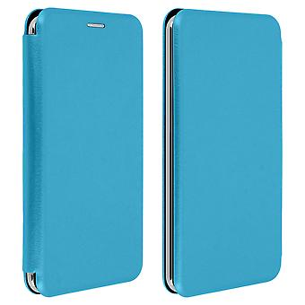 Smartphone Case 3,8 to 4,7 '' Universal Card Holder Function Blue