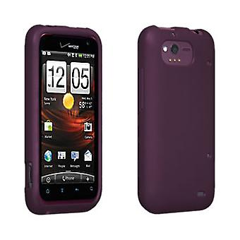 OEM Verizon Silicone Cover Case for HTC Rhyme 6330 (Purple) (Bulk Packaging)