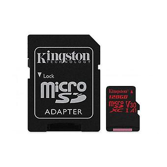 MicroSD mit SD-Adapter