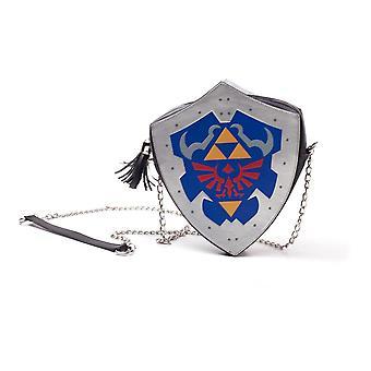 Nintendo Legend of Zelda Hylian Shield gevormde dames Schoudertas (LB871151ZEL)