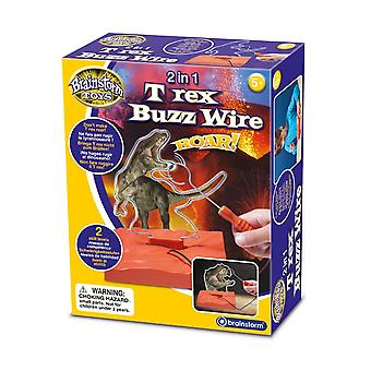 Brainstorm 2 In 1 T-rex Buzz Wire Game Play Fun Toy Children